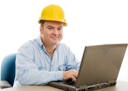 Apex NC male student attending Online Trade School